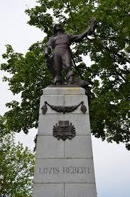 100 Louis Hebert Hbert Canada Farming In Canada Quebec Statue