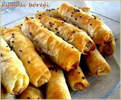 cuisine turc facile kıymalı böreği beurek turc à la viande du sel dans ma cuisine