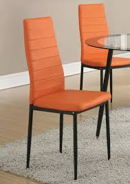 Amazon.com - Set Of 4 Retro Style Orange Faux Leather Dining ... Ding Room Chair Leather Design Optic Upholstered Chair Retro Cognac Brown Beige 2er Set Amazing Rooms Chairs Set Cushions Table Michael Anthony Fniture Burnt Orange Oak Nyekoncept Mid Century Eiffel Side Amazoncom Cjc Of 2 Faux Kitchen Chairsbrown Art Deco St030 Transitional Midcentury Modern Dering Hall Mediterrean With Hand Painted Hgtv Christopher Knight Home 298997 Anise Of Green Tea With Casters