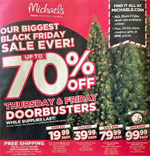 Michaels Black Friday 2018 Ads Deals And Sales