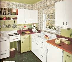 Mosaic Vintage Kitchen Tile With White Cabinets Combined By Green Also Cutlery Sets C