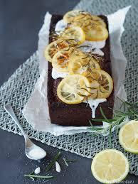 dekoration zum reinsetzen oder zitronen rosmarin kuchen mit
