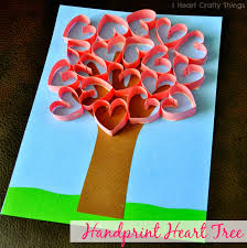 Glitter Handprint Craft From Preschool Crafts For Kids Block Handprints The Chirping Moms Heart Hand Stamps Bloesemkids Inexpensive Art