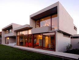 104 Home Architecture Concrete Decorated With Sunlight