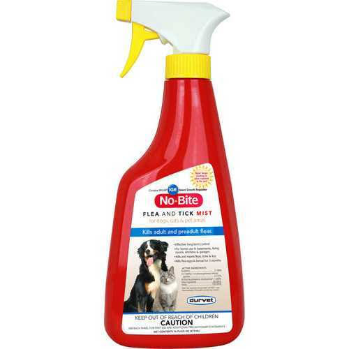 No-Bite Pet Flea and Tick Treatment Spray - 16oz