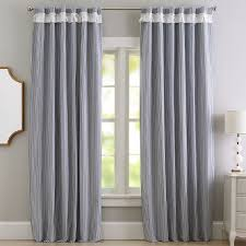 Gray Ruffle Blackout Curtains by Best 25 Blackout Drapes Ideas On Pinterest Chevron Bedroom