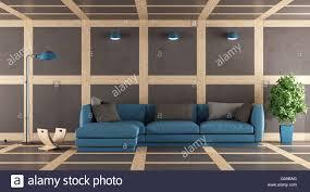 zeitgenössische wohnzimmer mit wand boden und decke in