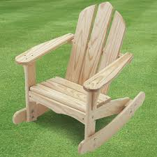Adirondack Rocking Chair Woodworking Plans by Little Colorado Child U0027s Adirondack Rocking Chair Unfinished Free