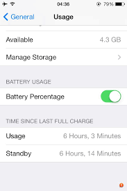 iPhone 4S excessive battery drain in standby inc flight mode