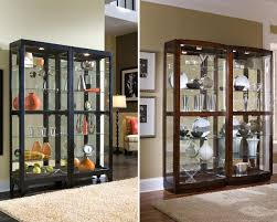 furnitures lighted curio cabinets curio cabinets ethan allen