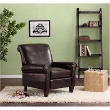 dorel living faux leather club chair multiple colors walmart com