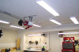 4 types of fluorescent light fixtures for a garage