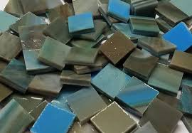 bulk discount olive sky stained glass mosaic tiles mosaic tile