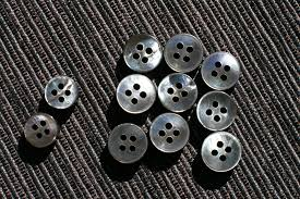mother of pearl shirt buttons