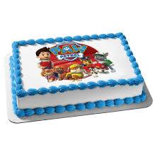 backzubehör kuchendekoration paw patrol personalised cake