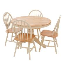 York Dining Table And Four Chairs Set