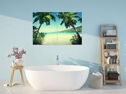 sommerferien unten palmen poster und wandbilder fürs