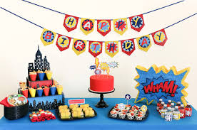 Cake Decorating Books Free by How To Throw An Action Packed Comic Book Party For Your Super Kid