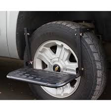 Shop HitchMate Tire Step For Truck And SUV - Free Shipping Today ... Buyers Heavyduty Footgrab Step Model Fs2797ch Northern Tool Bed Steps By Bestop Go Rhino Universalstep Truck 120b Free Shipping On Orders Buy Chevygmc 12500 Stealth Side Amp Powerstep Retractable Running Boards Mobile Living And For All Models Makes Sides Adjustable Single Alinum Super Duty Tyre For 4x4 Suv End 5192016 1215 Pm Bars 6 Inch Angular Chromed Crew Cab Extended Access Step To Your Truck Bed Welcome Mrtrailercom