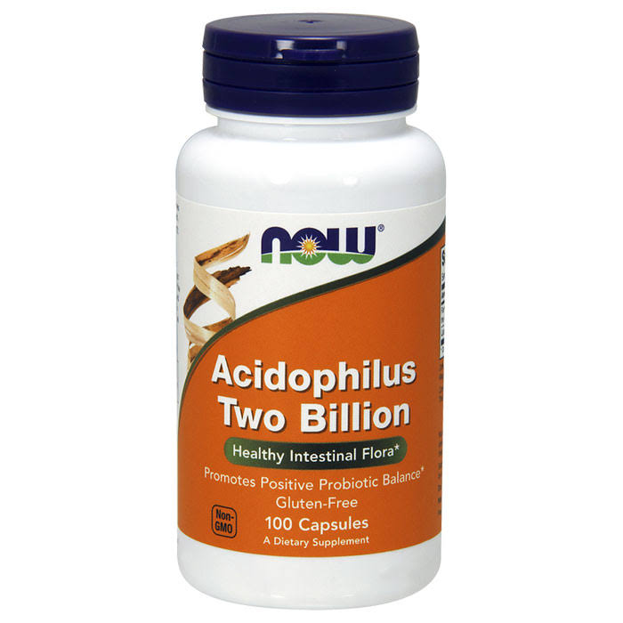 Now Foods Acidophilus Two Billion Supplement - 100 Capsules
