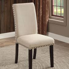 Dodson Set Of Two Side Chairs With Nailhead Trim By Furniture Of America At  Rooms For Less Details About Set Of 2 Classic Parson Ding Chairs Living Room Nailhead Trim Tall Backrest Tan Parsons Merax Stylish Tufted Upholstered Fabric With Detail And Solid Wood Legs Beige Kaitlin Transitional Style Nailhead Trim 7 Piece Ding Set Chair Ginnys Armless Abbyson Sienna Leather Hooker Fniture Sorella Side Turned Lionel Modern Grey Wing Back Ambrosia Rustic Bar Wilson Home Ideas How To Make Black