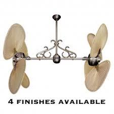 twin ceiling fans dual motor double ceilingfantastic com
