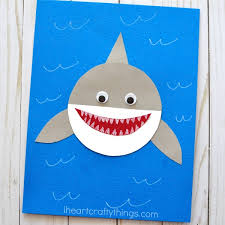 How To Make A Paper Shark Craft