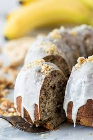 Banana Nut Bundt Cake
