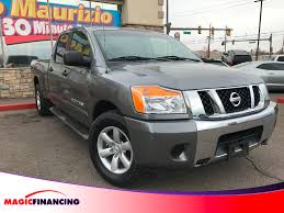 2013 Used Nissan Titan 4WD Crew Cab LWB SV At Magic Financing ...