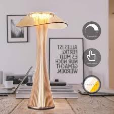zmh led tischle akku nachttischle touch dimmbar moderne tischleuchte für schlafzimmer nachttischleuchte aus pmma nachtlicht für schlafzimmer