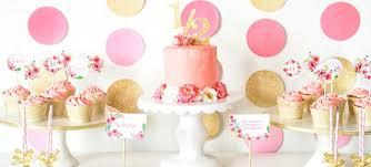 Pink And Gold Birthday Themes by Kara U0027s Party Ideas Pink And Gold Birthday Party Archives Kara U0027s