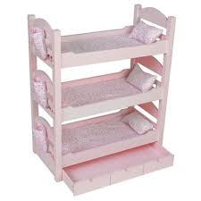 Triple Bunk Bed Our Generation Intersafe