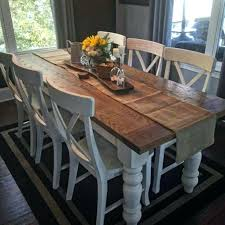 Farmhouse Table And Chairs Incredible Tables Inside Best Dining Designs Cheap