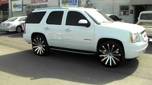 100 Trucks With Rims 8775448473 Velocity VW12 Machine Black Wheels 2014 GMC Yukon Truck