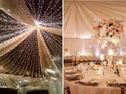 Rustic Wedding Ceiling Decorations