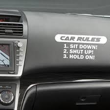 100 Truck Window Decal Amazoncom Ecosin Car Stickers Rules Slammed Car Vinyl