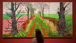 david hockney at tate britain retrospective of