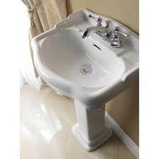 Kohler Archer Pedestal Sink Single Hole by Bathroom Sinks Pedestal Bathroom Sinks Southern Materials