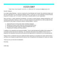 Cover Letter Tips For Marketing