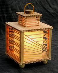 28 Homemade Stick Lamp
