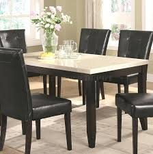 slate top dining table set casual slate tile top dining tables