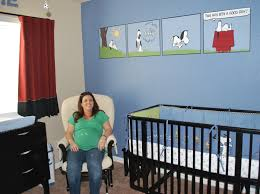 Snoopy Crib Bedding Set by Peanuts Baby Room