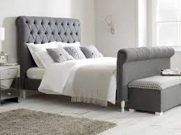 Super King Size Beds Fabric Upholstered Divan Sleigh Legs & More