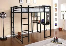 Queen Bunk Bed Desk Bunk Beds Metal Teen Loft Bed With Desk
