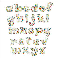 Funky Font Applique Pattern ABCs NUMBERs Funky Fonts
