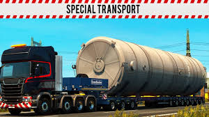 Euro Truck Simulator 2 Special Transport DLC - YouTube