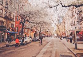 Wallpaper United States New York Street City People HD Picture Image