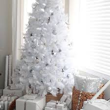 Rustic Glam White Christmas Tree