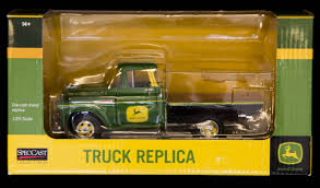 100 Texas Truck And Toys John Deere Replica 125 Scale Item BZ9062 SOLD Ma