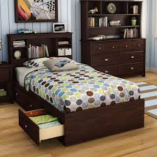 Modern Twin Bed Frame with Storage — Modern Storage Twin Bed
